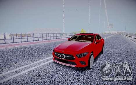 Mercedes-Benz CLS450 4matic 2018 pour GTA San Andreas