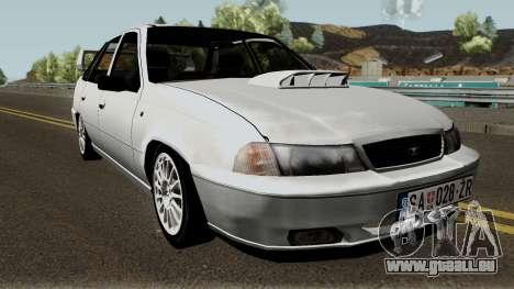 Daewoo Nexia Impreza für GTA San Andreas Innenansicht
