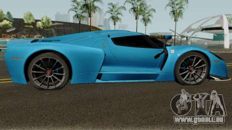 SCG SCG003S 2017 pour GTA San Andreas vue arrière