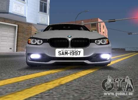 BWM F30 335i Stance pour GTA San Andreas