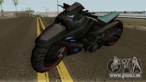 INJ2 CatWoman Motorcycle pour GTA San Andreas