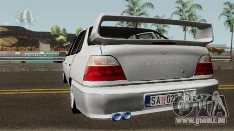 Daewoo Nexia Impreza für GTA San Andreas zurück linke Ansicht