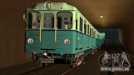 Les voitures de type Ezh à Kiev Modernisation pour GTA San Andreas