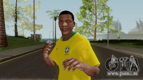 Franklin Brazil World Cup pour GTA San Andreas