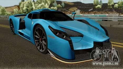 SCG SCG003S 2017 pour GTA San Andreas vue intérieure