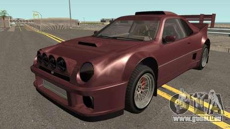 Vapid GB200 GTA V IVF pour GTA San Andreas