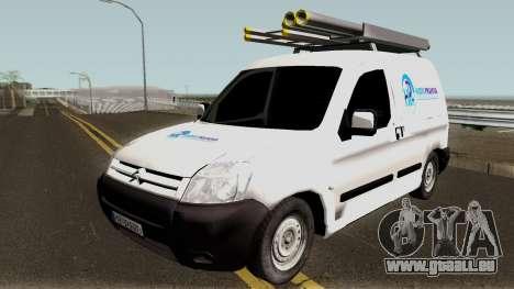 Citroen Berlingo HidroPrahova Edition pour GTA San Andreas