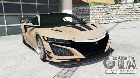 Acura NSX 2017 [replace] für GTA 5