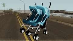 Double Baby Stroller pour GTA San Andreas