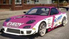 RX-7 Exedy Drift Car pour GTA 4