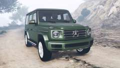 Mercedes-Benz G 500 (W463) 2018 [add-on] pour GTA 5