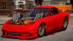 Mazda RX7 Dragster V1.1 pour GTA 4