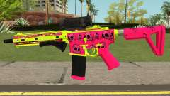 GTA Online Gunrunning Carbine Rifle MK.II Pink pour GTA San Andreas