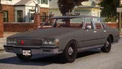 1985 Chevrolet Caprice Taxi pour GTA 4
