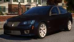 Pontiac G8 GXP V2 pour GTA 4
