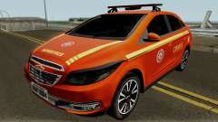 Chevrolet Onix Brazilian Police pour GTA San Andreas