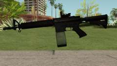 M4-A1 Black pour GTA San Andreas