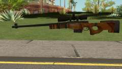 The Walking Dead Andrea Comic Weapon pour GTA San Andreas