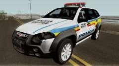 Fiat Palio Weekend Locker PMMG für GTA San Andreas