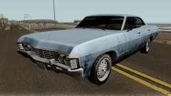 Chevrolet Impala 67 Sobrenatural V2 für GTA San Andreas