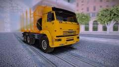KAMAZ Camion 6460 pour GTA San Andreas
