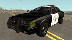 Vapid Stainer SAHP Police GTA V IVF pour GTA San Andreas