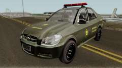 Chevrolet Prisma Brigada Militar pour GTA San Andreas