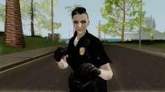 GTA Online Female Random Skin 4 Police Officer für GTA San Andreas