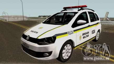 Volkswagen SpaceFox Police für GTA San Andreas