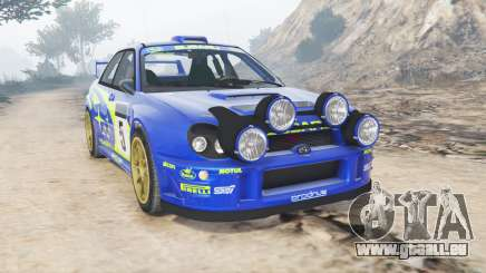 Subaru Impreza S8 WRC (GD) 2001 [add-on] pour GTA 5