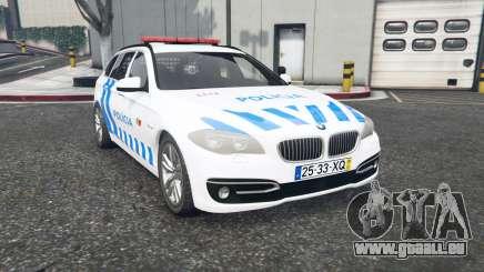 BMW 530d Touring (F11) Portuguese Police v1.1 pour GTA 5