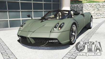 Pagani Huayra roadster 2017 [add-on] pour GTA 5