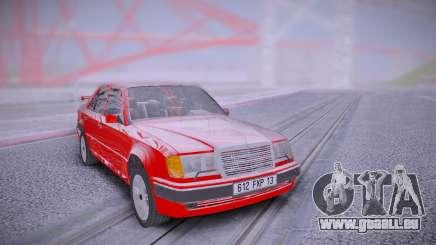 Mercedes-Benz W124 500E from Taxi 1 pour GTA San Andreas