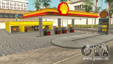 Shell Gas Station Updated für GTA San Andreas