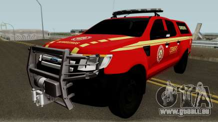 Ford Ranger 2015 CBMRS pour GTA San Andreas