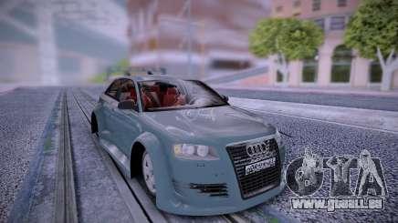 Audi A3 Rus Plates pour GTA San Andreas