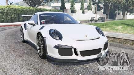 Porsche 911 GT3 RS (991) 2016 v2.0 [replace] pour GTA 5