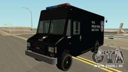 Boxbille Police S.T.A.R.S. Resident Evil 2 für GTA San Andreas