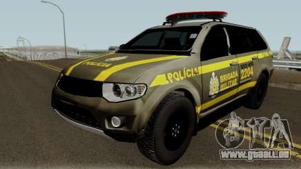 Mitsubishi Pajero Brazilian Police pour GTA San Andreas