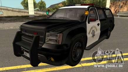 Declasse Granger SAHP Police GTA V pour GTA San Andreas