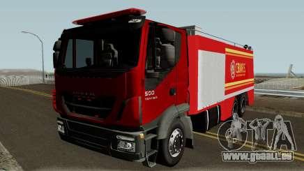 Iveco Trakker Firetruck pour GTA San Andreas