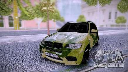 BMW X5M Camo pour GTA San Andreas