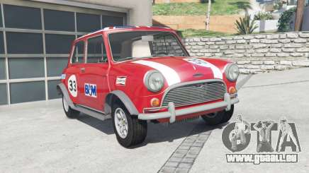Austin Mini Cooper S (ADO15) 1965 [add-on] pour GTA 5
