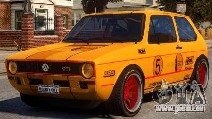 VW Golf GTI MK1 Rally PJ für GTA 4