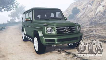 Mercedes-Benz G 500 (W463) 2018 [add-on] für GTA 5