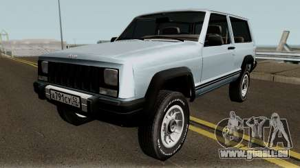 Jeep Cherokee XJ pour GTA San Andreas