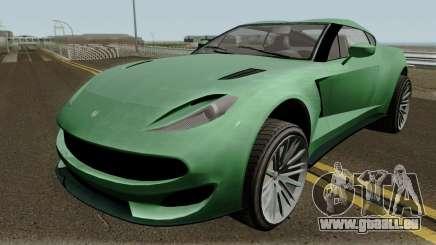 Cheval Taipan GTA V IVF pour GTA San Andreas