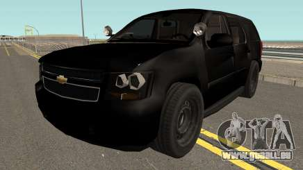 Chevrolet Tahoe SUV (Police Livery) Low-poly pour GTA San Andreas