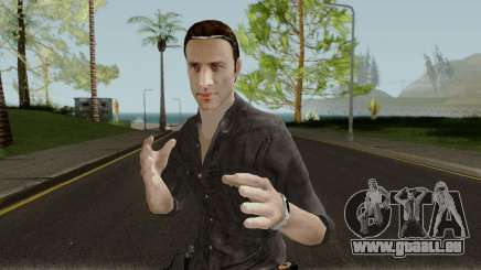 The Walking Dead Rick Grimes Movie Mod V1 pour GTA San Andreas