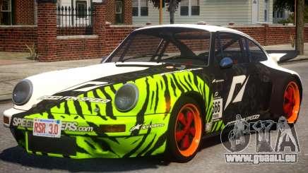 1974 Porsche 911 PJ2 für GTA 4